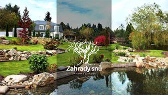 ZAHRADY SNŮ, Original Garden by Daniel Purgert Exklusivní zahrady