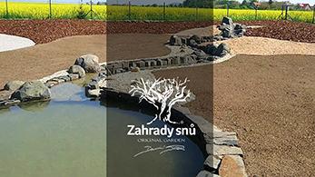 POLOPATĚ - Daniel Purgert zahradysnu.cz , Zahrada s duší, prameniště potoka jako symbolika zrození