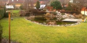 původní zahrada před realizací