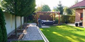 Zahrady snů Daniel Purgert, zahrada s přemostěním, realizace zahrad autorské zahrady ORIGINAL GARDEN