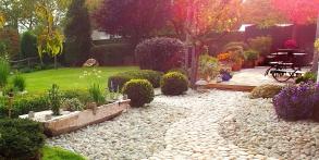 Zahrady snů Daniel Purgert, Modelace zahrady s potokem, realizace zahrad autorské zahrady ORIGINAL GARDEN